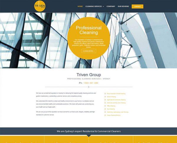 Triven Website